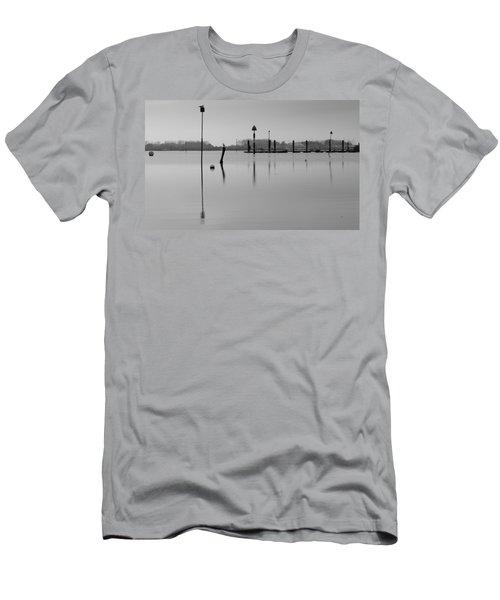 High Tide Ripples Men's T-Shirt (Athletic Fit)