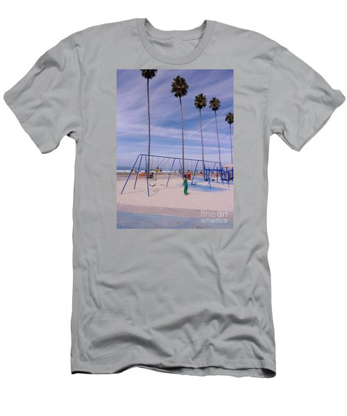 Higher  Men's T-Shirt (Slim Fit) by Susan Garren