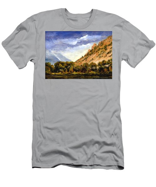 Hills Of Jackson Wyoming Men's T-Shirt (Athletic Fit)