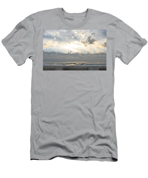 His Glory Shines Men's T-Shirt (Athletic Fit)