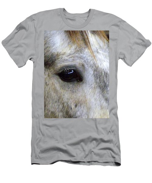 Men's T-Shirt (Slim Fit) featuring the photograph His Spirit Was Stolen by John Glass