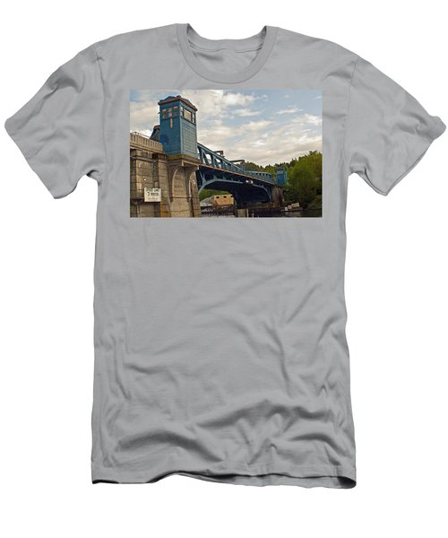 Historical Fremont Drawbridge  Men's T-Shirt (Athletic Fit)