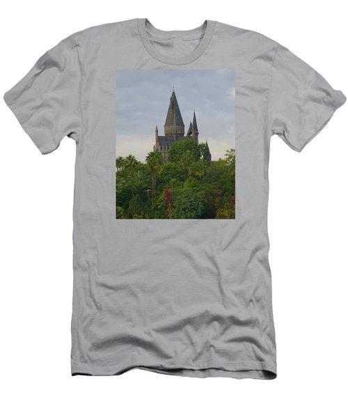 Hogwarts Castle 1 Men's T-Shirt (Slim Fit) by Kathy Long