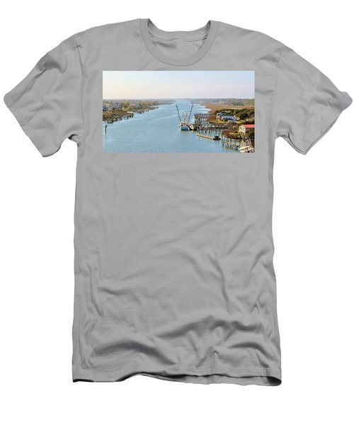 Holden Beach In Nc Men's T-Shirt (Athletic Fit)