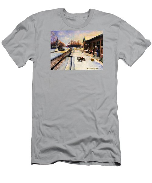 Holiday Depot 1932 Men's T-Shirt (Slim Fit) by Susan Williams