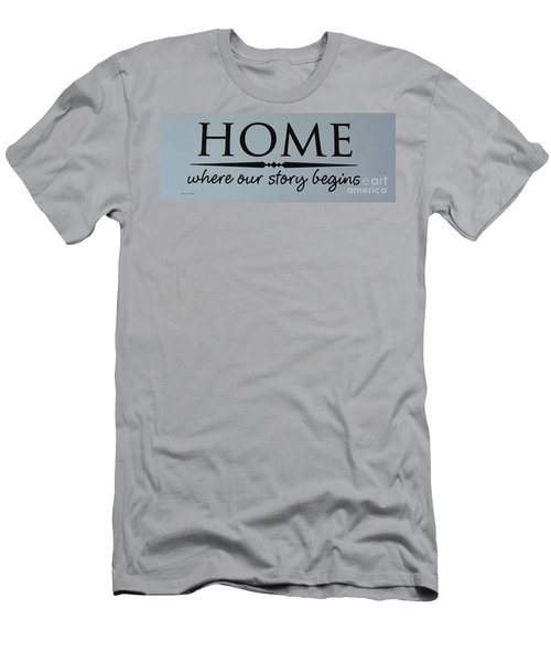 Men's T-Shirt (Slim Fit) featuring the photograph Home by Jeannie Rhode