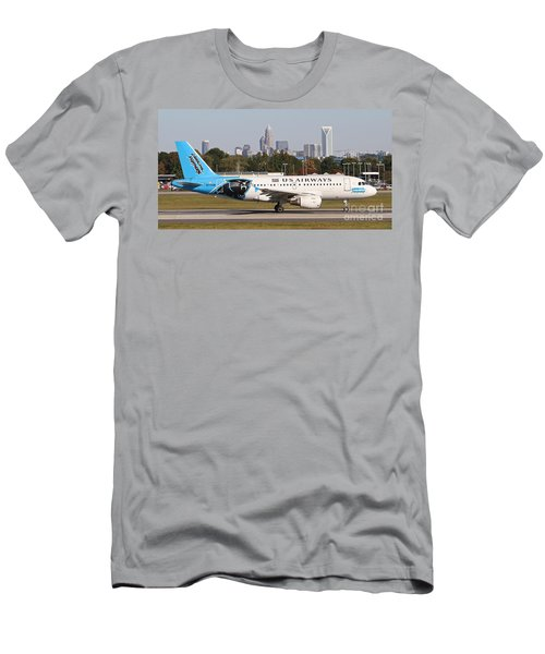 Home Of The Panthers Men's T-Shirt (Athletic Fit)