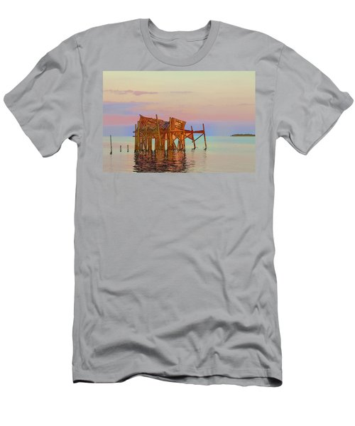 Honeymoon Cottage Men's T-Shirt (Athletic Fit)