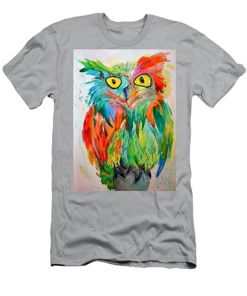 Hoot Suite Men's T-Shirt (Athletic Fit)
