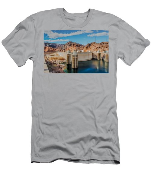 Hoover Dam Reservoir Men's T-Shirt (Athletic Fit)