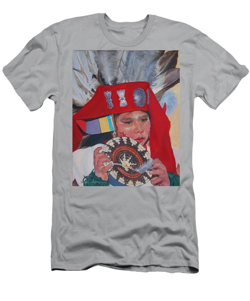 Hopi Basket Dancer Men's T-Shirt (Athletic Fit)