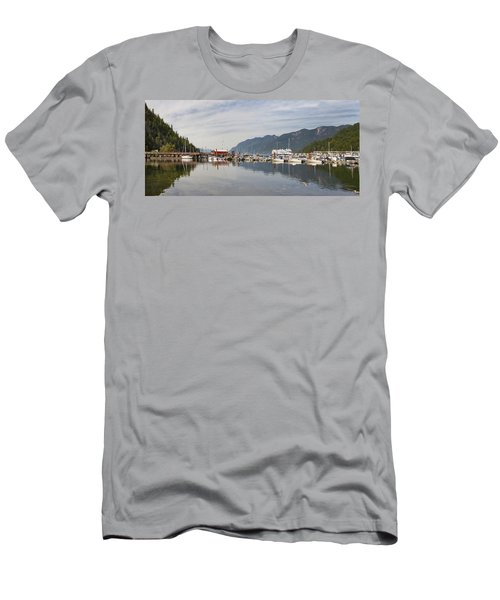 Men's T-Shirt (Slim Fit) featuring the photograph Horseshoe Bay Vancouver Bc Canada by JPLDesigns