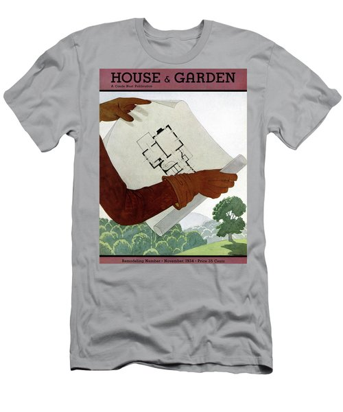 House & Garden Cover Illustration Of A Pair Men's T-Shirt (Athletic Fit)
