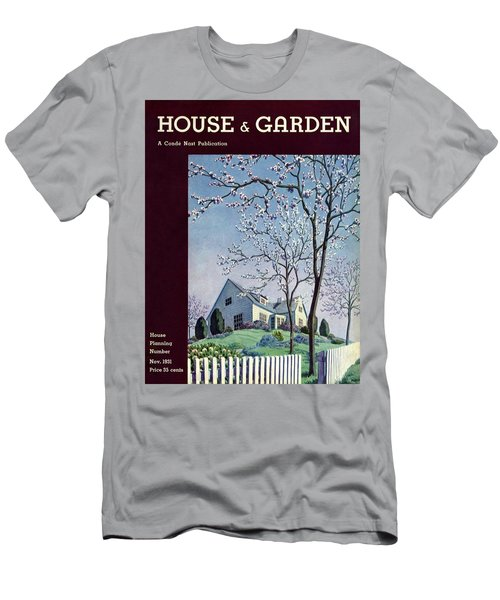 House And Garden House Planning Number Cover Men's T-Shirt (Athletic Fit)