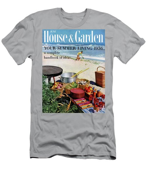 House And Garden Ideas For Summer Issue Cover Men's T-Shirt (Athletic Fit)