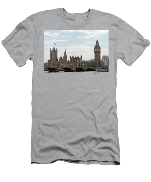 Houses Of Parliament Men's T-Shirt (Athletic Fit)