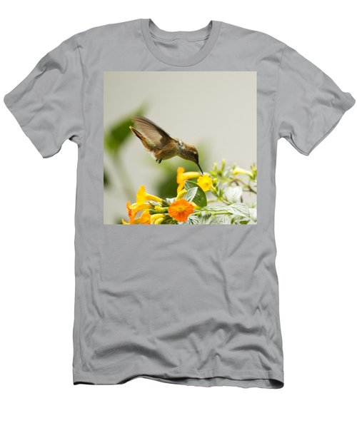 Hungry Flowerbird Men's T-Shirt (Athletic Fit)