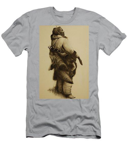 Hunter Men's T-Shirt (Slim Fit) by Jean Cormier
