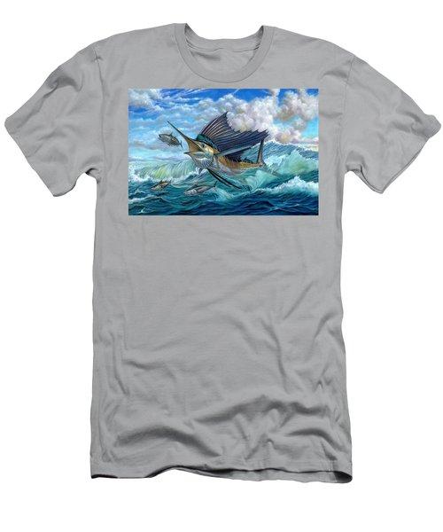Hunting Sail Men's T-Shirt (Athletic Fit)