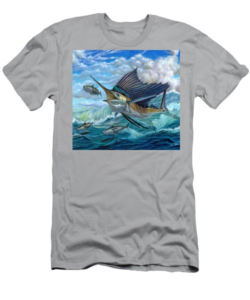 Hunting Sail Men's T-Shirt (Athletic Fit)