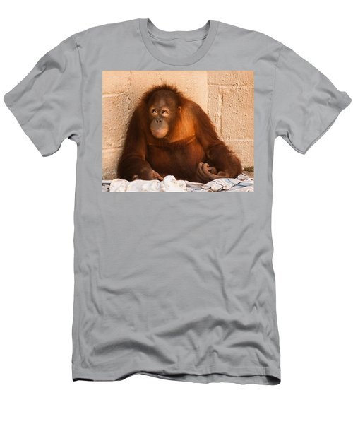 I Didn't Mean To Do It Men's T-Shirt (Athletic Fit)