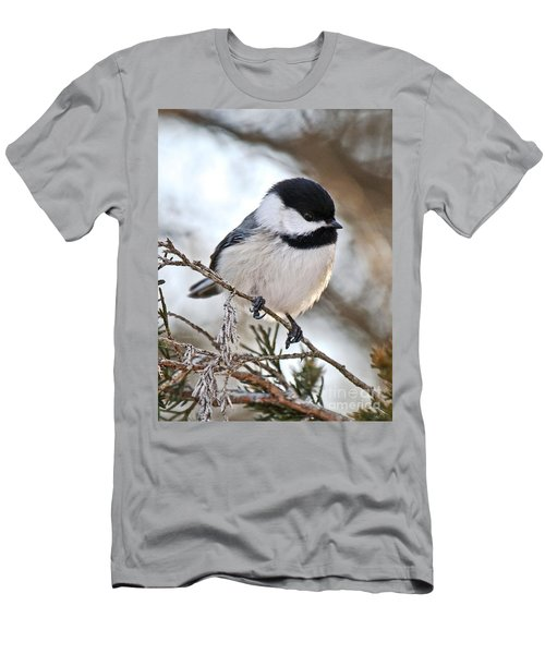 Men's T-Shirt (Slim Fit) featuring the photograph I May Be Tiny But You Should See Me Fly by Heather King