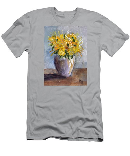 I Think Of Spring Men's T-Shirt (Slim Fit) by Michael Helfen