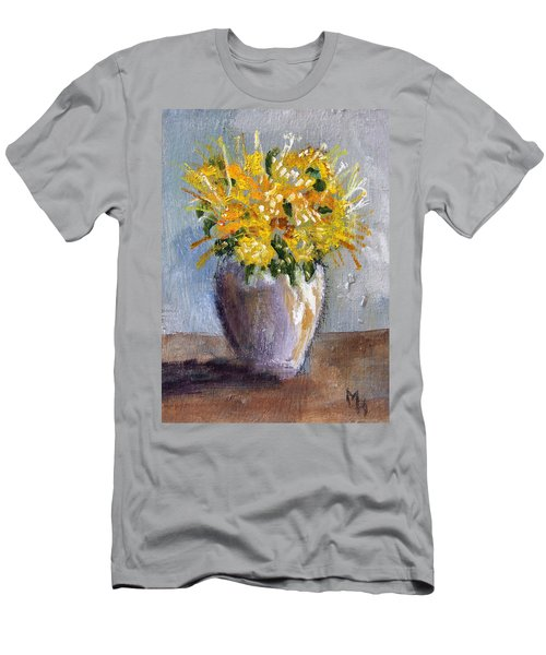 I Think Of Spring Men's T-Shirt (Athletic Fit)