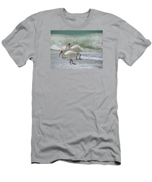 Ibis Pair Men's T-Shirt (Athletic Fit)