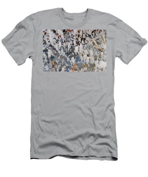 Ice Bubbles  Men's T-Shirt (Athletic Fit)