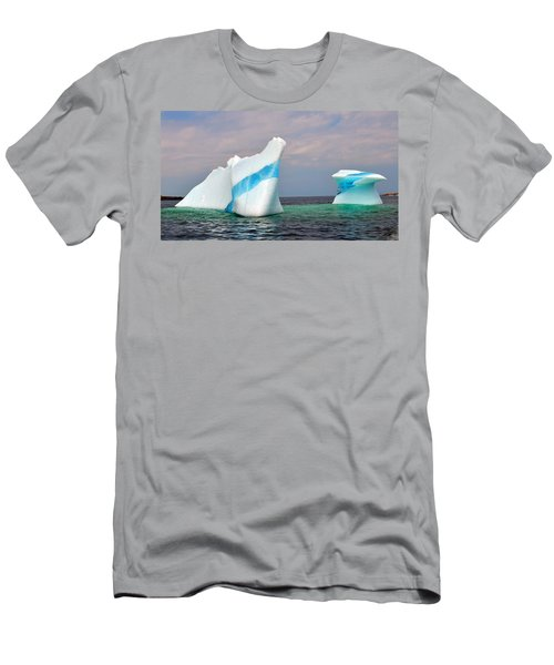 Iceberg Off The Coast Of Newfoundland Men's T-Shirt (Athletic Fit)