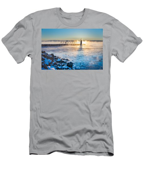 Icy Morning Mist Men's T-Shirt (Athletic Fit)
