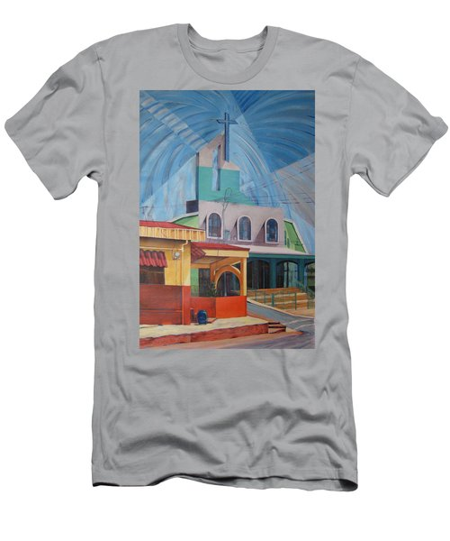 Iglesia San Rafael  Costa Rica Men's T-Shirt (Athletic Fit)