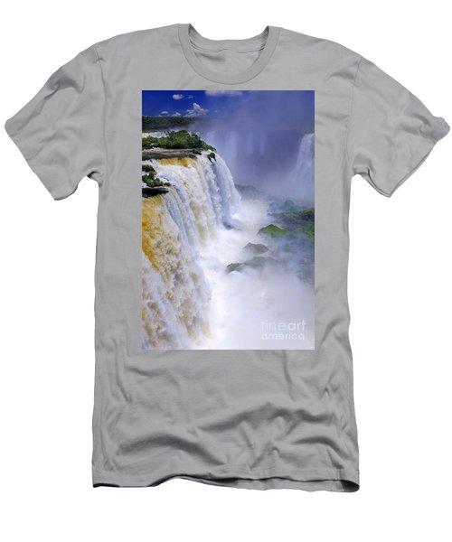 Iguazu Falls IIi Men's T-Shirt (Athletic Fit)