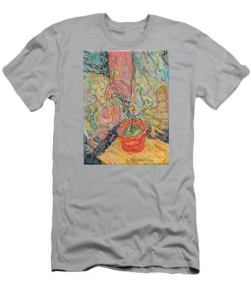 Ikebana Men's T-Shirt (Slim Fit) by Anna Yurasovsky