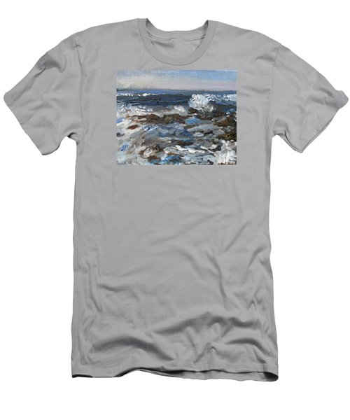 I'll Have A Water On The Rocks Please Men's T-Shirt (Slim Fit) by Michael Helfen
