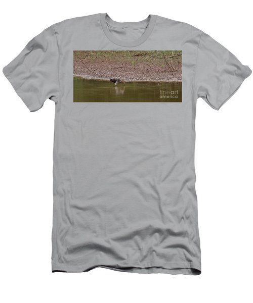 Immature White Ibis 2 Men's T-Shirt (Athletic Fit)