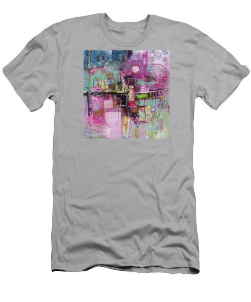 Men's T-Shirt (Athletic Fit) featuring the painting Impromptu by Michelle Abrams