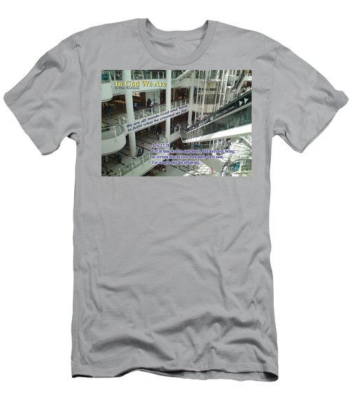In God We Are Men's T-Shirt (Athletic Fit)