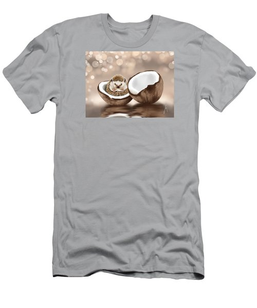 In The Coconut Men's T-Shirt (Slim Fit) by Veronica Minozzi