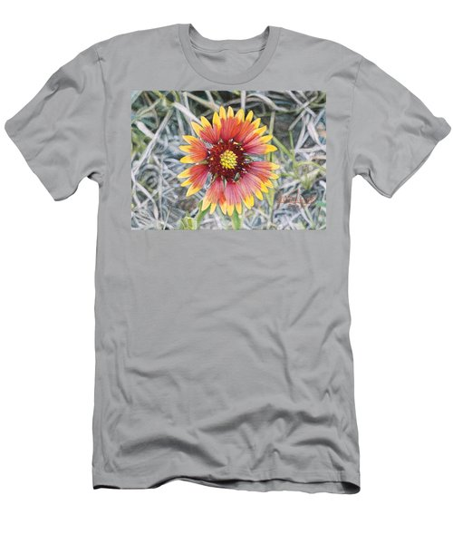 Indian Blanket Men's T-Shirt (Slim Fit) by Joshua Martin