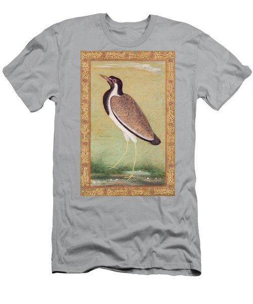 Indian Lapwing Men's T-Shirt (Slim Fit) by Mansur