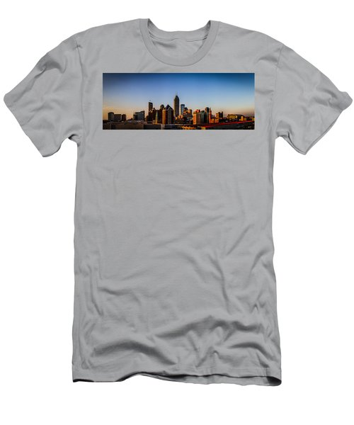 Indianapolis Skyline - South Men's T-Shirt (Athletic Fit)