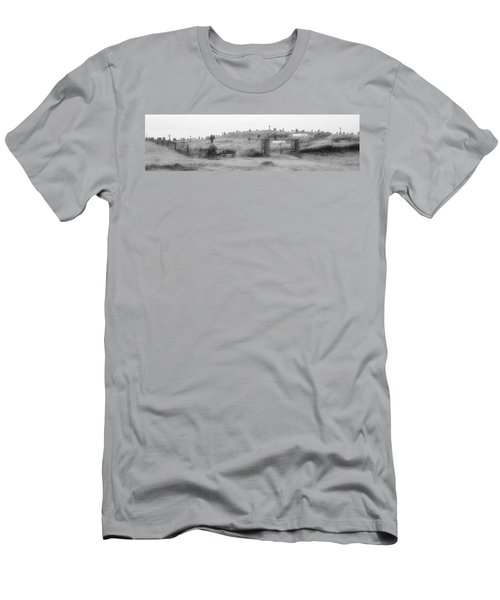 Inis Oirr Cemetery Men's T-Shirt (Slim Fit) by Tara Potts