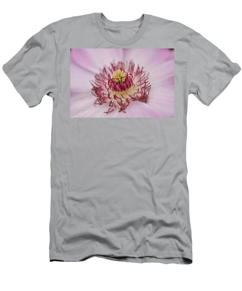 Men's T-Shirt (Slim Fit) featuring the photograph Inside The Flower by Mike Martin