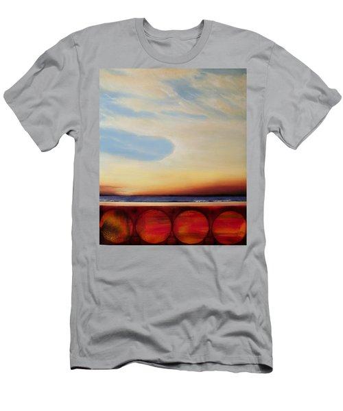 Internal Fires Men's T-Shirt (Slim Fit) by Albert Puskaric