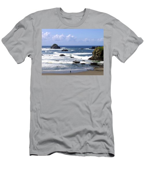 Invigorating Sea Air Men's T-Shirt (Athletic Fit)