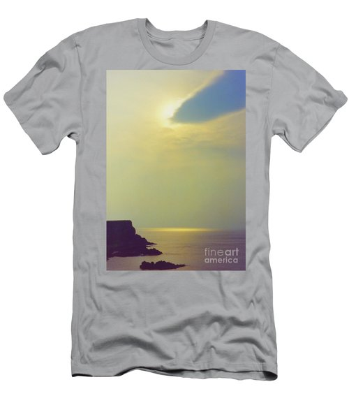 Ireland Giant's Causeway Ethereal Light Men's T-Shirt (Slim Fit) by First Star Art