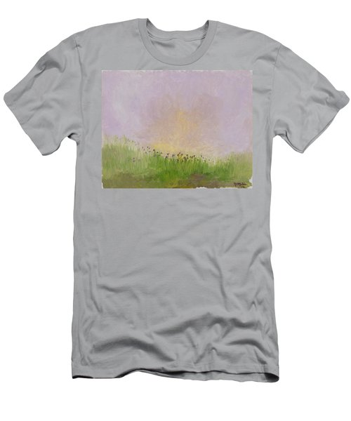 Iris Field Men's T-Shirt (Athletic Fit)