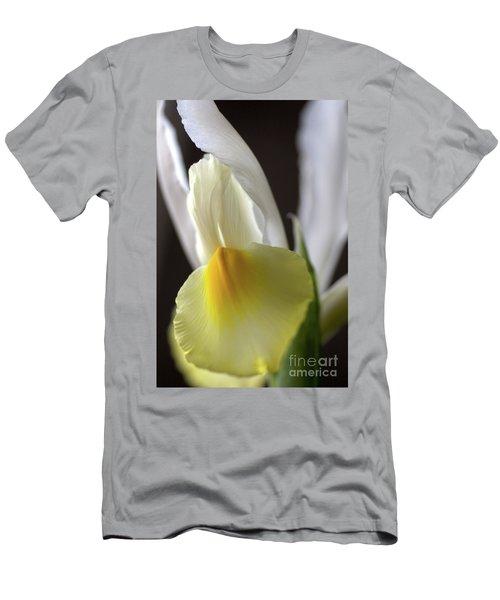Men's T-Shirt (Slim Fit) featuring the photograph Iris Flower by Joy Watson